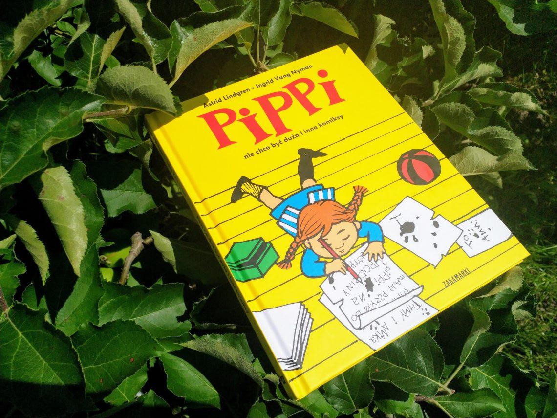 Pippi nie chce być duża i inne komiksy