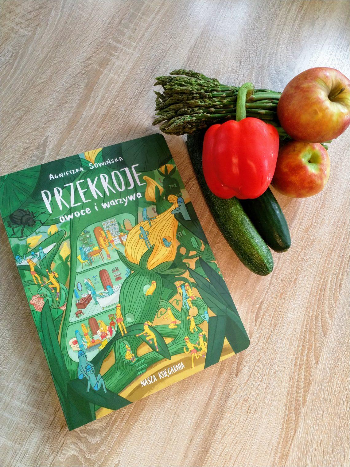 Przekroje: owoce i warzywa