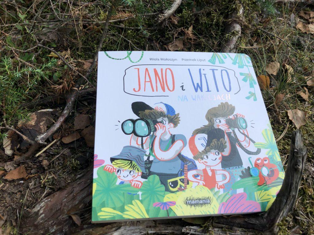 Jano i Wito na wakacjach - Najlepsze książki na wakacje