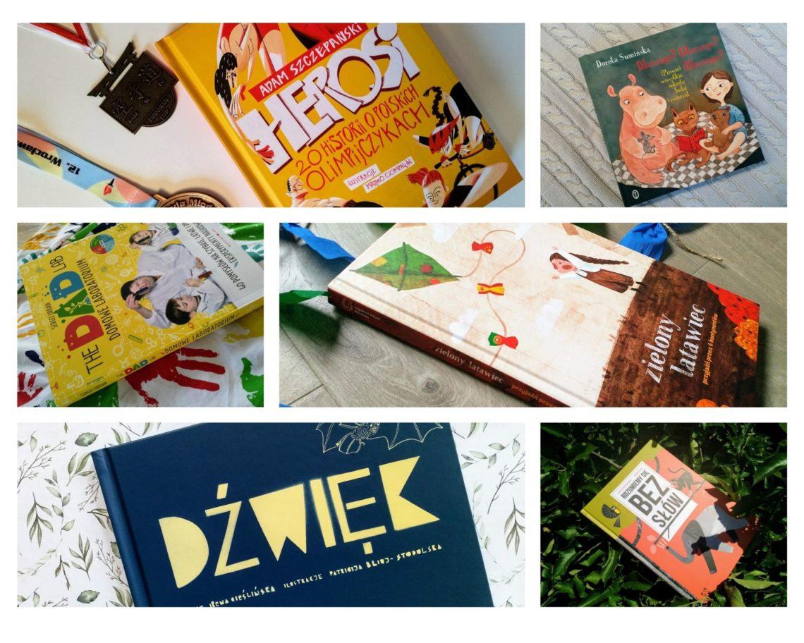 Początek roku szkolnego tuż-tuż! W związku z tym postanowiłam przygotować dla Was zestawienie, w którym znajdziecie książki dla dzieci ciekawych świata
