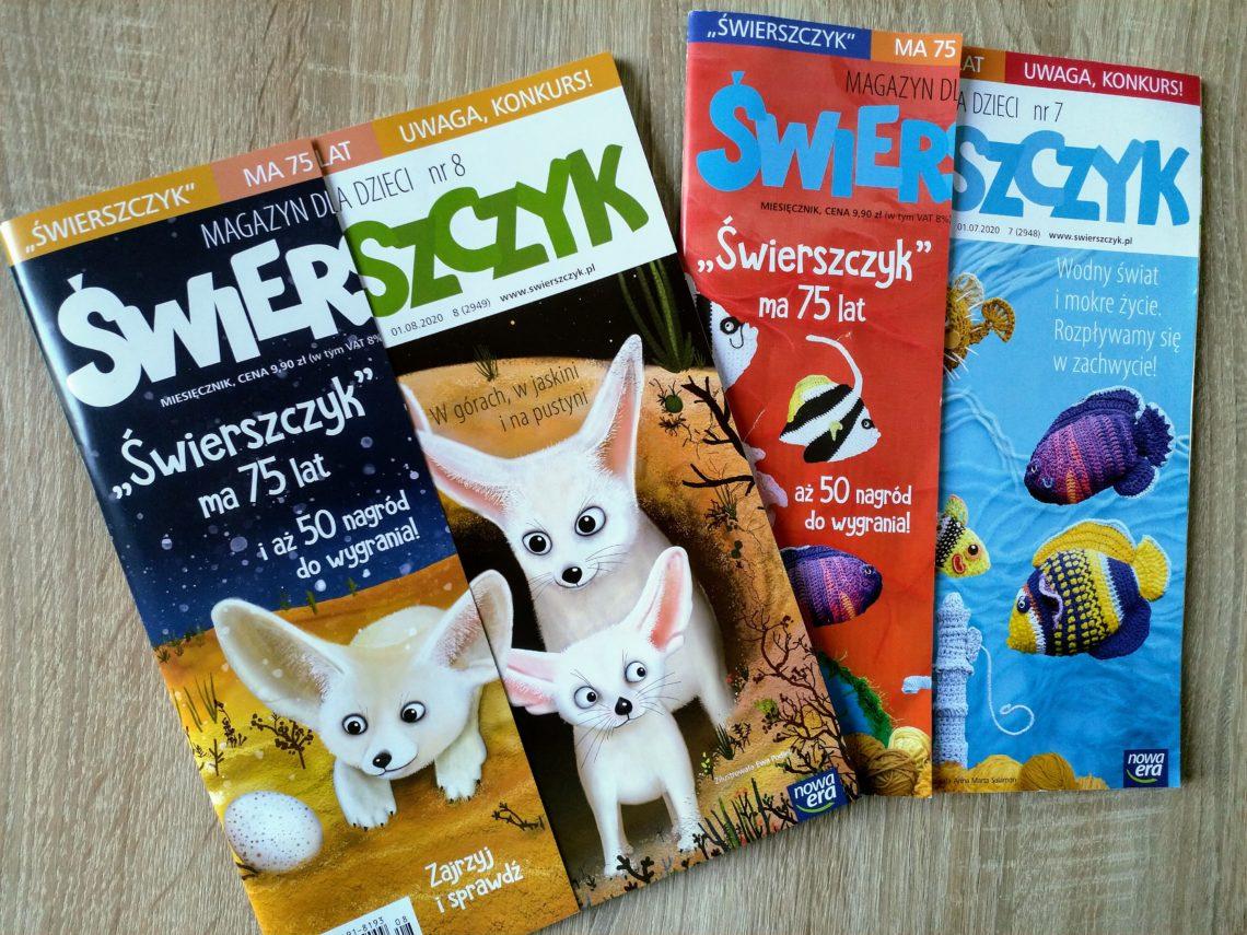 Magazyn dla dzieci Świerszczyk