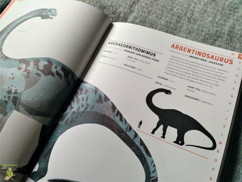 Książka Dinozaury od A do Z - recenzja
