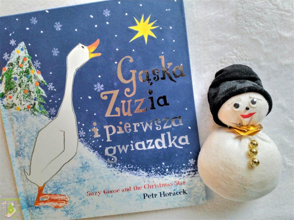 Gąska Zuzia i pierwsza gwiazdka - recenzja - najlepsze świąteczne książki dla dzieci