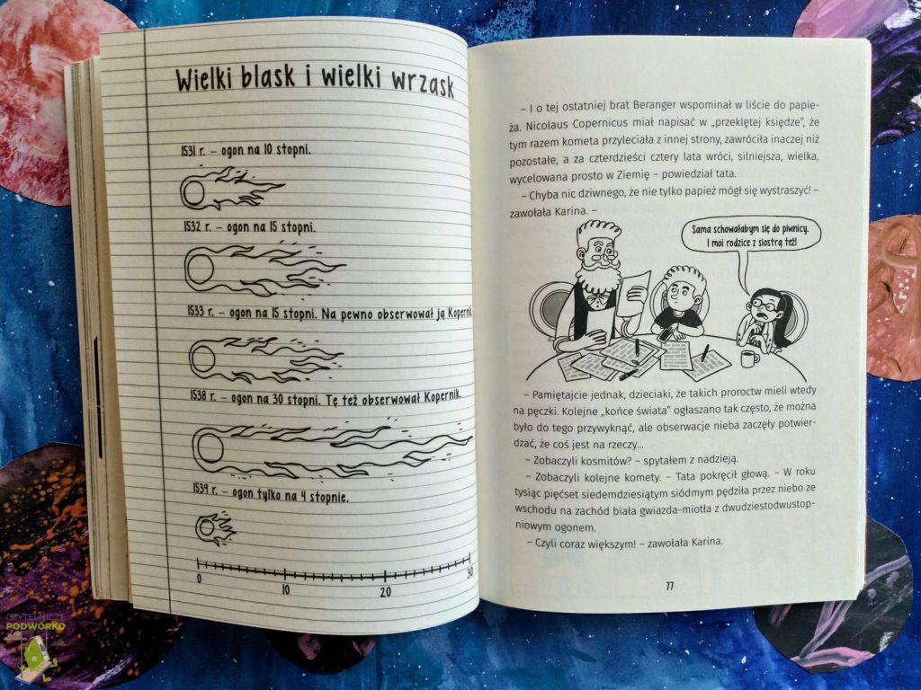 """Książka """"Puk puk! Widzieliście kometę?"""" - recenzja"""