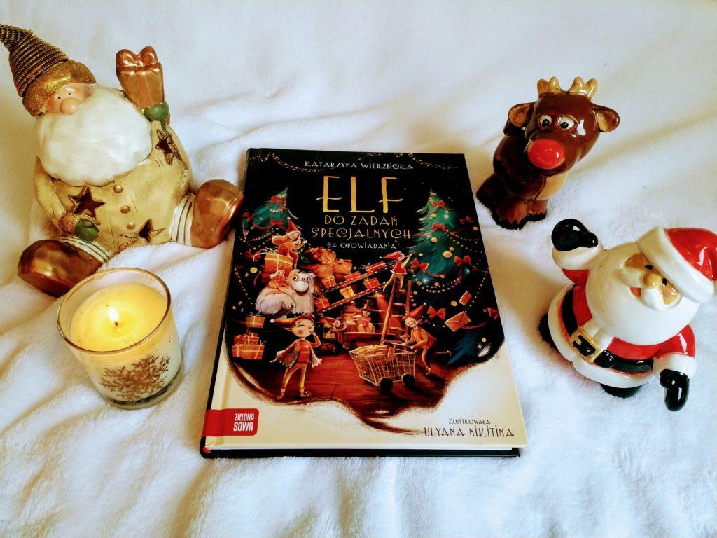 Elf do zadań specjalnych - najlepsze świąteczne książki dla dzieci