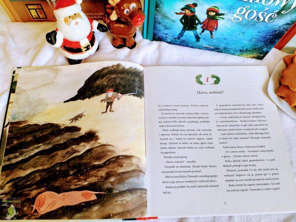 """""""Prezent dla Cebulki"""", Grudniowy gość"""", """"Hurra, są święta!"""" oraz """"Święta dzieci z dachów"""" - najlepsze świąteczne książki dla dzieci"""