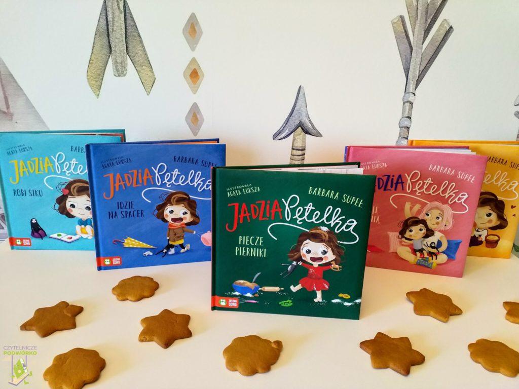 Jadzia Pętelka piecze pierniki - najlepsze świąteczne książki dla dzieci