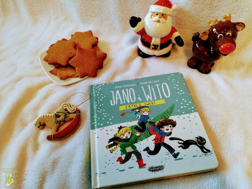 Jano i Wito. Zapach świąt - najlepsze świąteczne książki dla dzieci