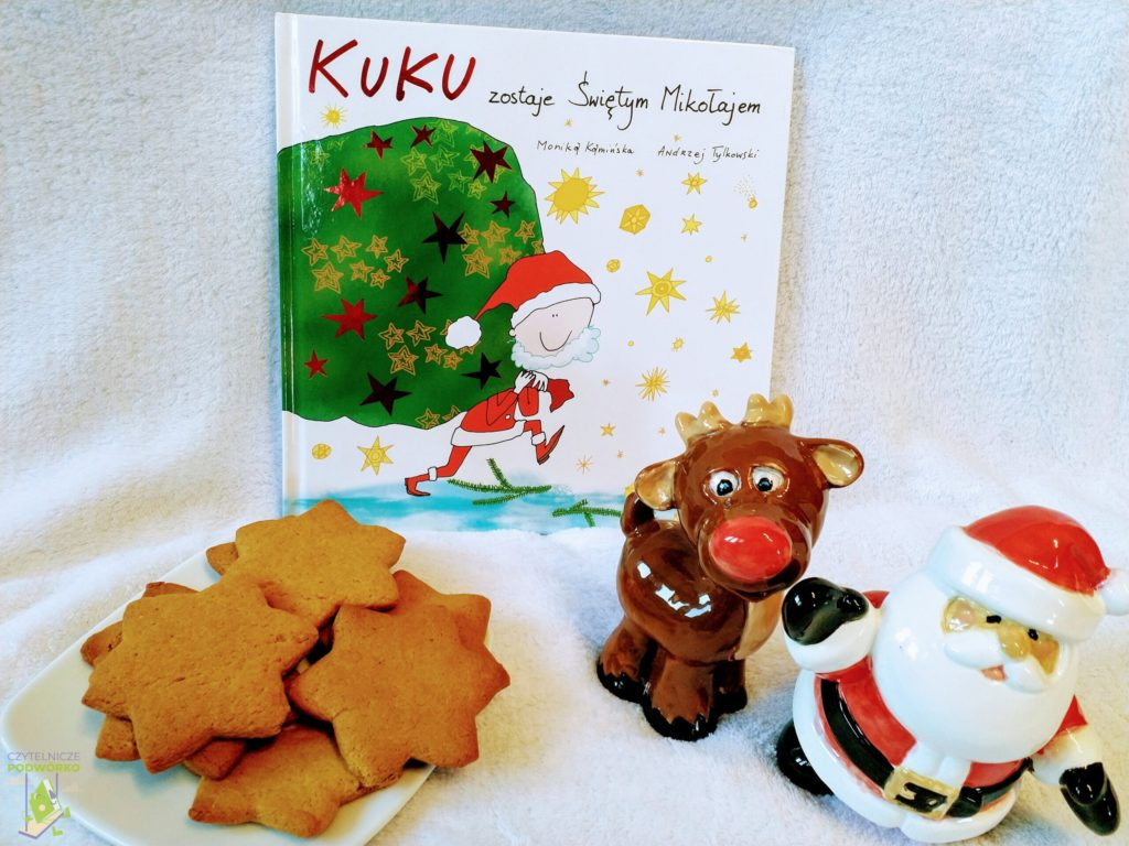 Kuku zostaje świętym Mikołajem - najlepsze świąteczne książki dla dzieci
