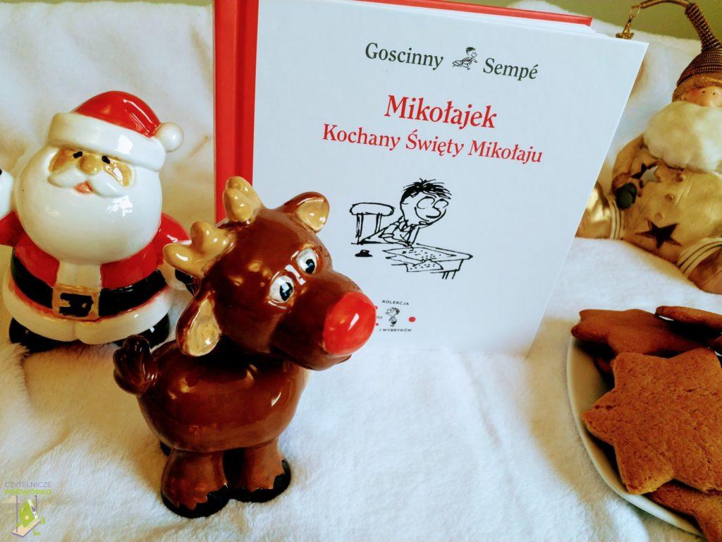 Mikołajek. Kochany Święty Mikołaju - najlepsze świąteczne książki dla dzieci