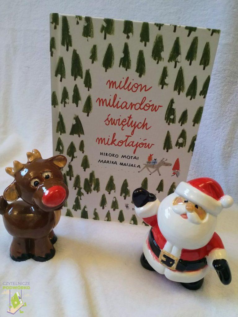 Milion miliardów Świętych Mikołajów - najlepsze świąteczne książki dla dzieci