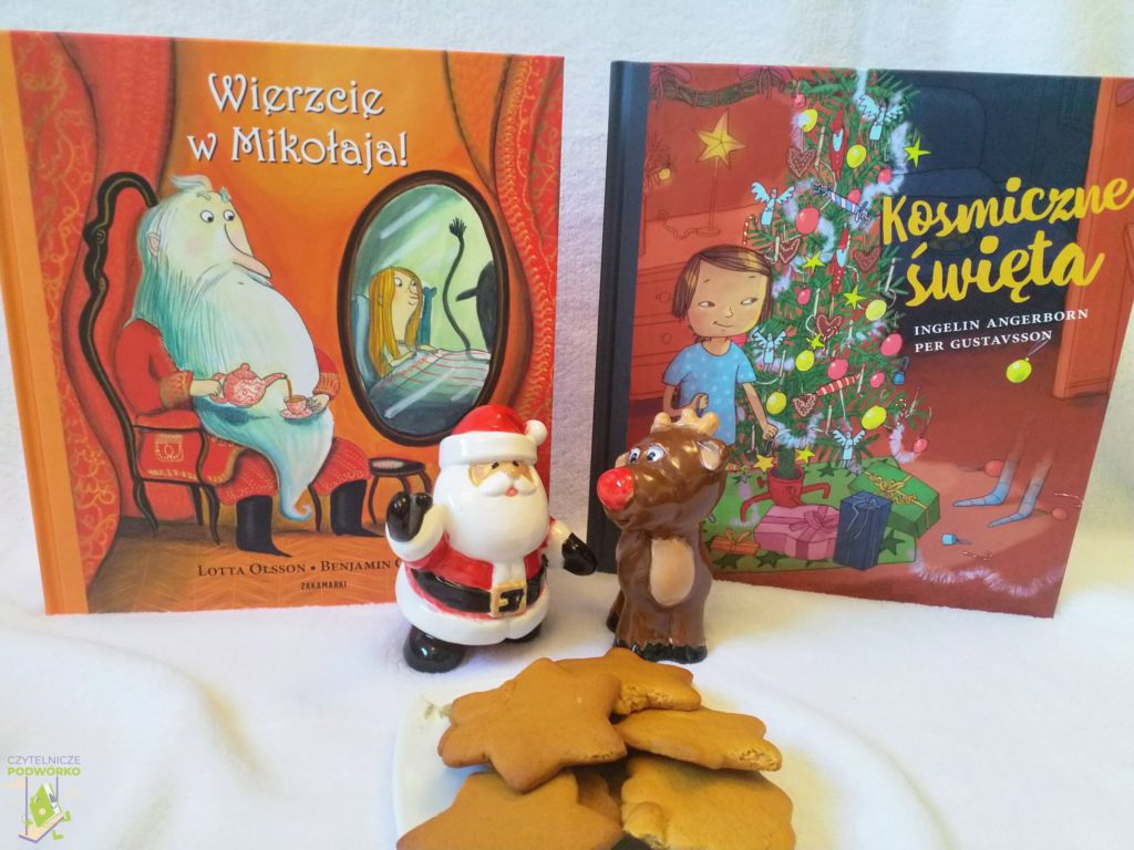 Wierzcie w Mikołaja oraz Kosmiczne święta - najlepsze świąteczne książki dla dzieci
