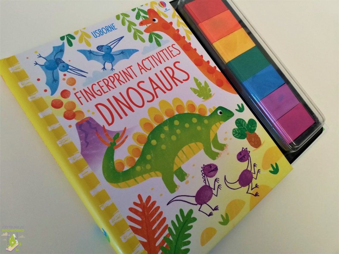 Fingerprint activities. Dinosaurs
