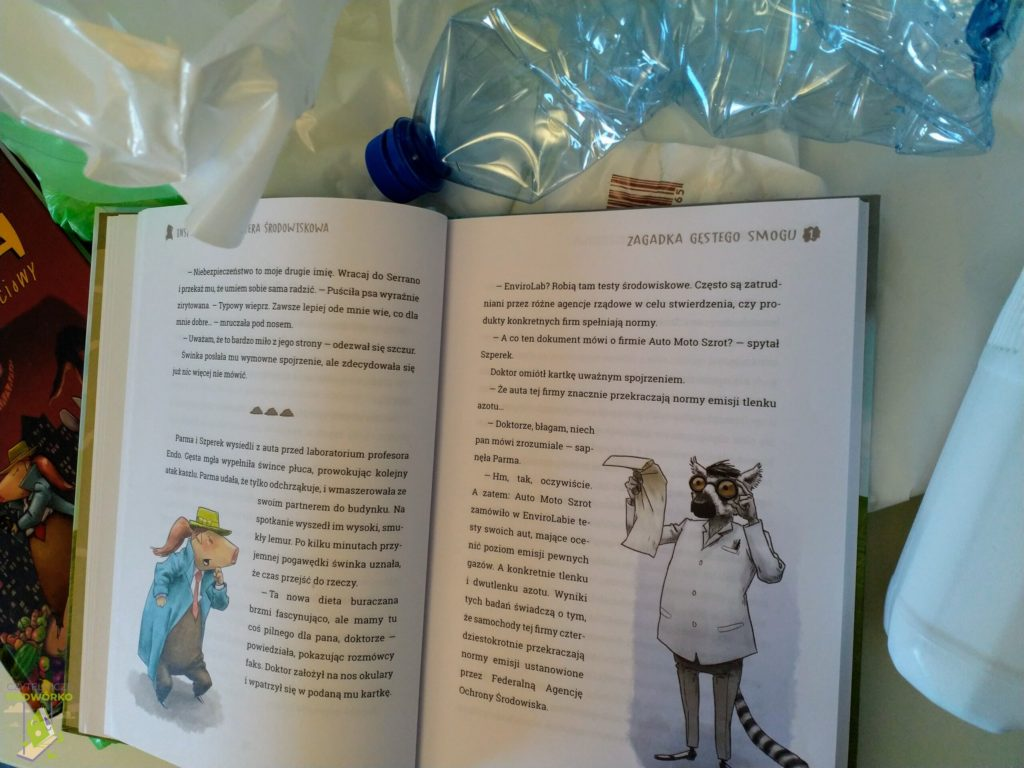 Inspektor Parma i afera środowiskowa