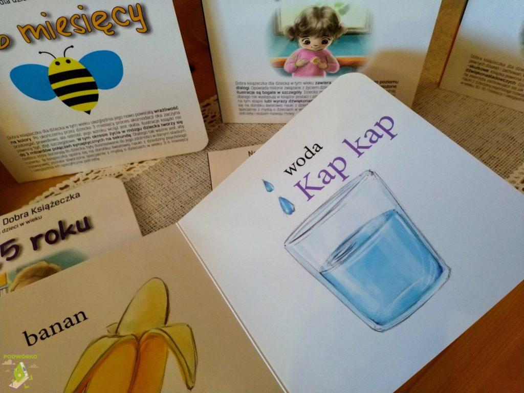 Nowa Seria Dobra Książeczka dla dzieci w wieku 6-12 miesięcy