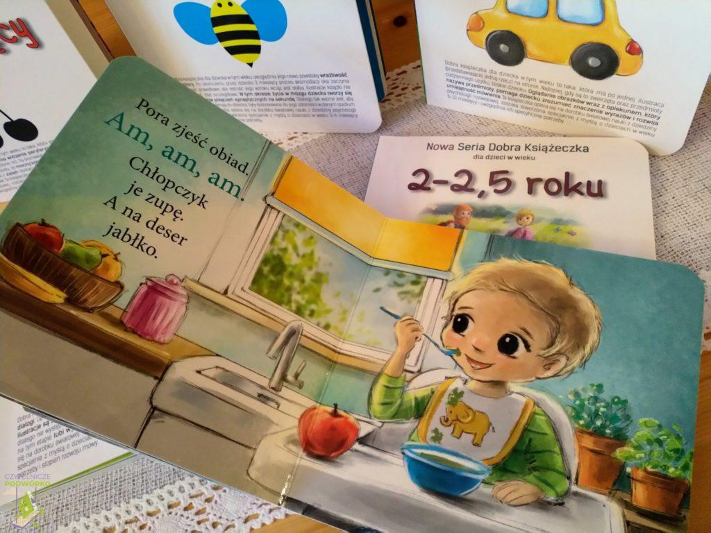 Nowa Seria Dobra Książeczka dla dzieci w wieku 1-1,5 roku