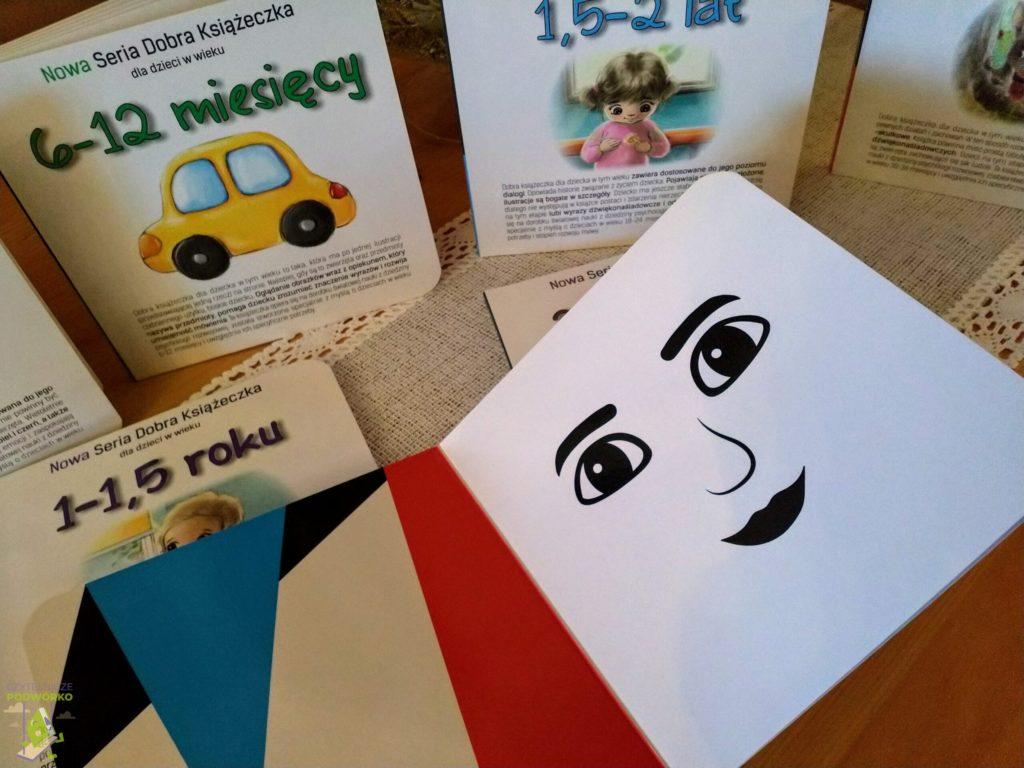 Nowa Seria Dobra Książeczka dla dzieci w wieku 3-6 miesięcy
