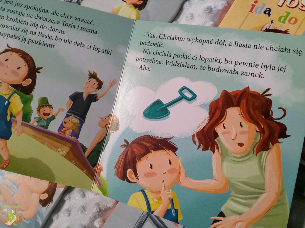Tosia i Julek uczą się dzielić
