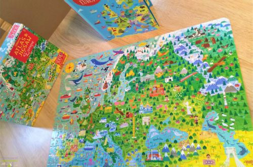 Europe. Usborne Atlas and Jigsaw